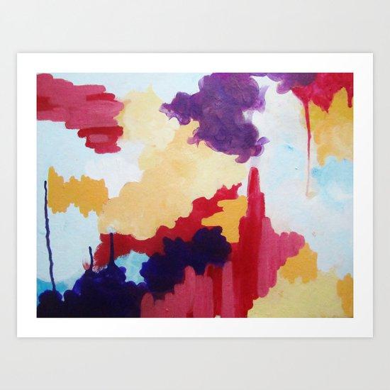 Tongue-tied Art Print