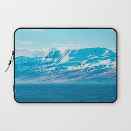 Blue Shine With A Horse Laptop Sleeve