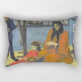 Schuffenecker Family by Paul Gauguin Rectangular Pillow