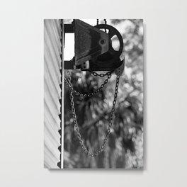 Pulling Together Metal Print