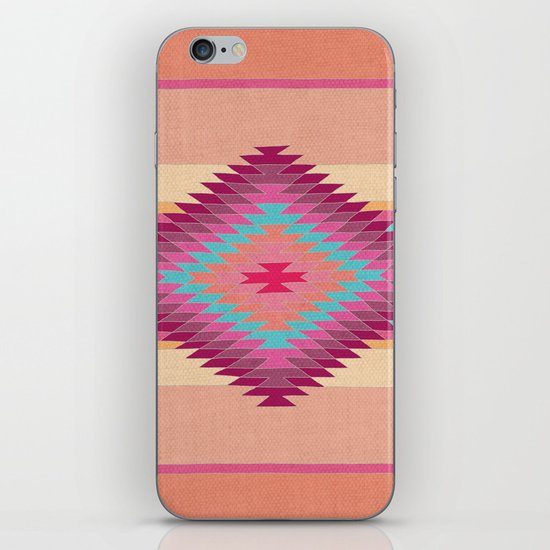 FIESTA (pink) iPhone & iPod Skin
