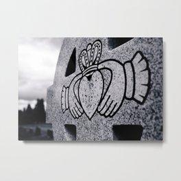 Claddagh closeup Metal Print