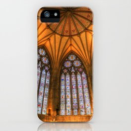 The Chapter House York Minster iPhone Case