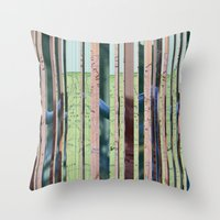 oregon Throw Pillows featuring Oregon Oregon by Milo Violet