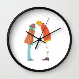 Loose Lips Wall Clock