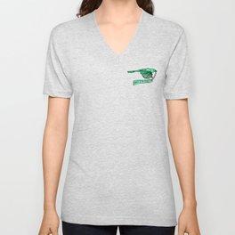 Green Magpie - Humans Against Climate Change Unisex V-Neck