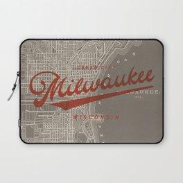 Milwaukee Map Laptop Sleeve