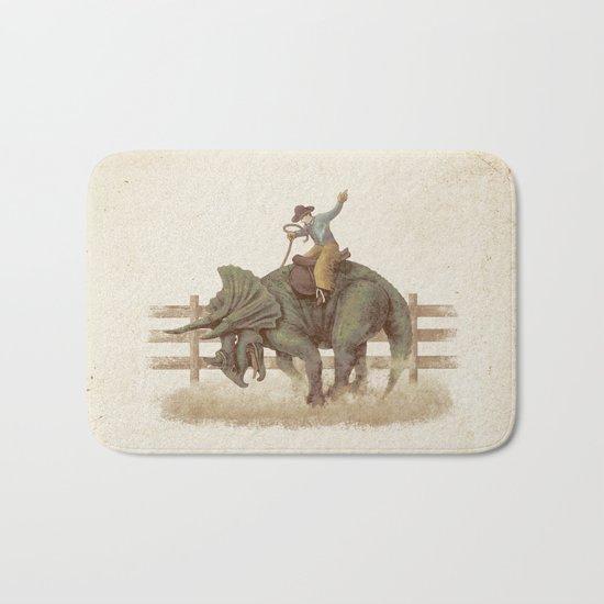 Dino Rodeo  Bath Mat