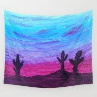 arizona Wall Tapestries featuring Arizona by HeartsandKeysArt