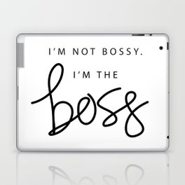 I'm the Boss Laptop & iPad Skin