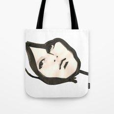 Ink face Tote Bag