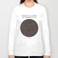 nan lawson Long Sleeve T-shirts featuring There Is A Light by Nan Lawson