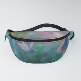 Crystalline Waters by Erica Kilbourn Fanny Pack