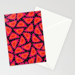 Shapes, Slices and Pips Stationery Cards