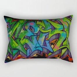 Atlanta Street Art Rectangular Pillow