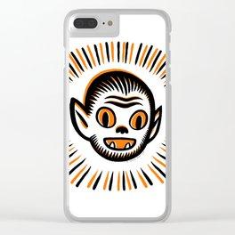 Werewolf Head Clear iPhone Case