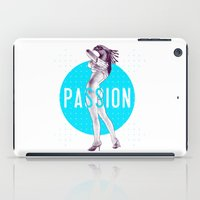passion iPad Cases featuring Passion by victor calahan