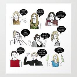 New Yorkers Art Print