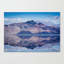 Reflected Mountains Canvas Print