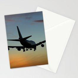 747 Sunset Landing Stationery Cards