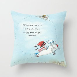 The Sky's the Limit (Fun and Frolics Series) Throw Pillow