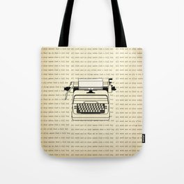 All work and no play II Tote Bag