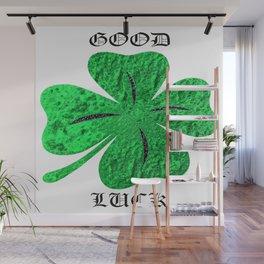 Four Leaf Clover Wall Mural