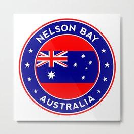 Nelson Bay, Australia Metal Print