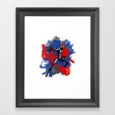 SPIDER BRUSH Framed Art Print