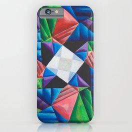 Square Pinwheel iPhone Case