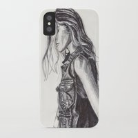 cassandra jean iPhone & iPod Cases featuring Jean  by Alcnwndrlnd
