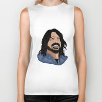 dave grohl Biker Tanks featuring Dave Grohl - Fan Art by Matty723