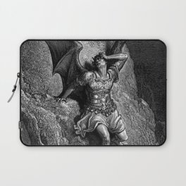 Gustave Dore - Paradise Lost Satan Profile Laptop Sleeve