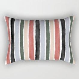 Christmas on Canvas Rectangular Pillow