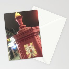 Firehouse call box Stationery Cards