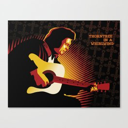 Johnny Cash: ThornTree in a Whirlwind Canvas Print