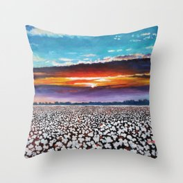 Delta Grace Throw Pillow