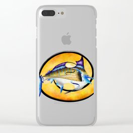 Marlinissos V1 - violinfish Clear iPhone Case
