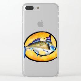 Marlinissos V1 - violinfish Clear iPhone Case