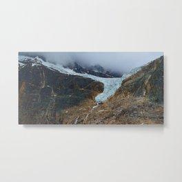 Angel Glacier on Mt. Edith Cavell in Jasper National Park, Canada Metal Print