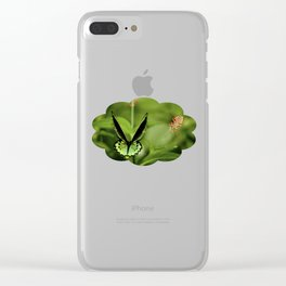 Birdwing Butterfly Clear iPhone Case