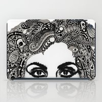psych iPad Cases featuring psych hair by Blak Hand