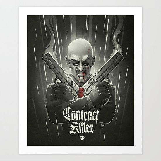Contract Killer Art Print