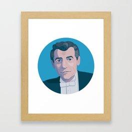 Queer Portrait - Leonard Bernstein Framed Art Print