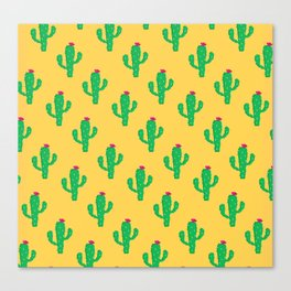 Pattern #13 B: Cactus Canvas Print