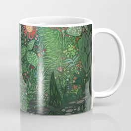 The Woods: Little Red Coffee Mug