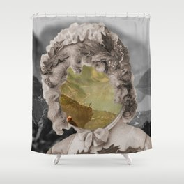 Vivid memory Shower Curtain