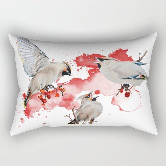 Feeding time Rectangular Pillow