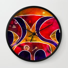 Labstract Wall Clock