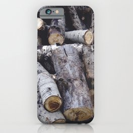 Another Log on the Pile iPhone Case